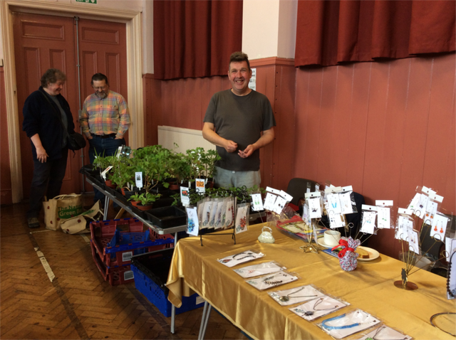 At the Community Market - Fresh home grown plants by Paul image