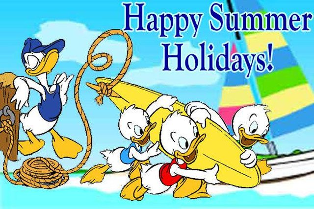 Wishing you all a happy summer holiday! image