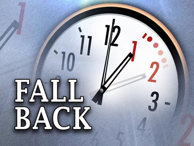 Remember to turn back your clock! image