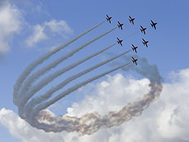 RAF Red Arrows in Sidmouth image