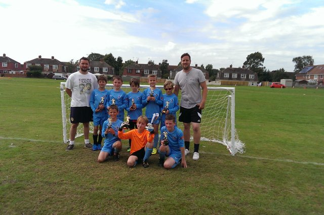 Tournament Winners Ottery U9's image