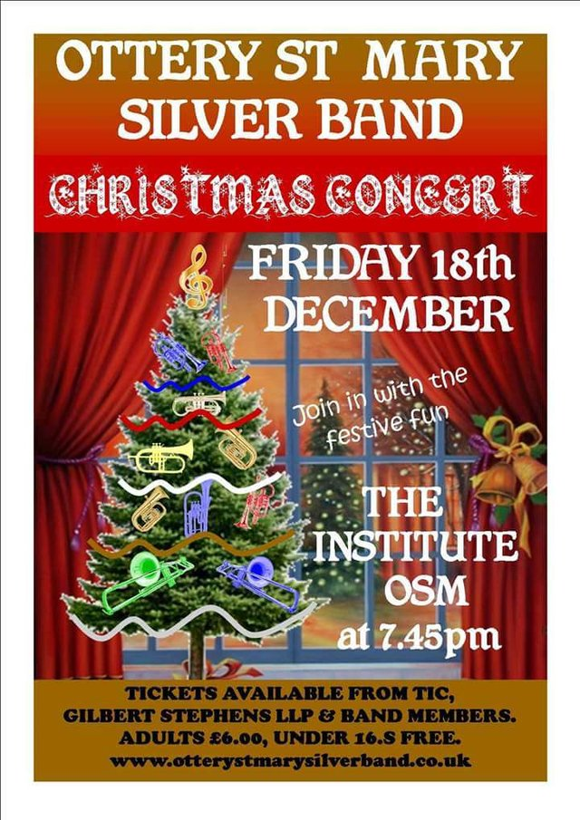 Christmas Concert - Ottery St Mary Silver Band image
