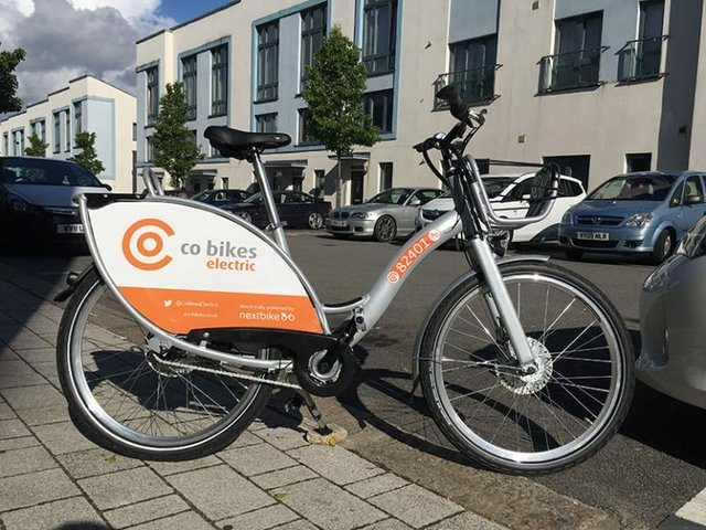 Electric hire bikes launched in Exeter! image