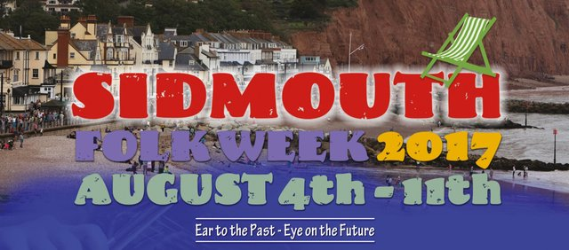 Save the Date - Sidmouth Folk 2017 image
