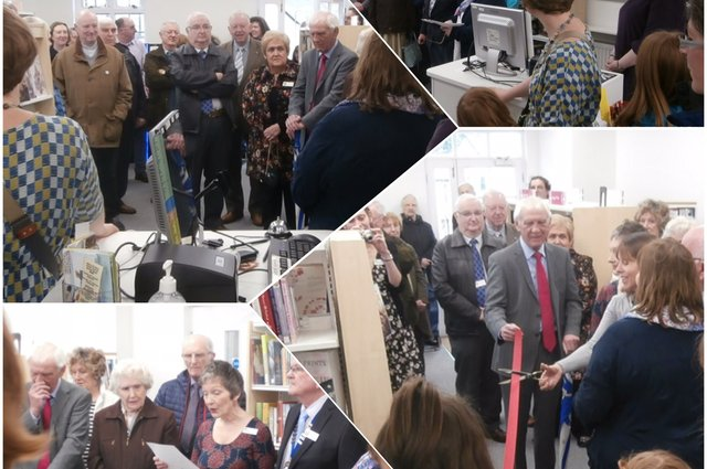 The Grand Ottery Library Opening yesterday image