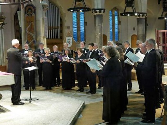 West Devon Chorale 13 May 2017 in Ottery St Mary image