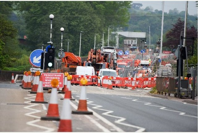 Another full weekend road closure for Exeter - Bridge Road image