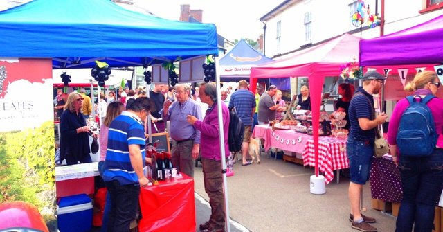 Ottery St Mary food and families festival 2018 image
