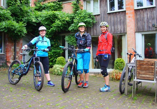 Women's mountain bike weekend in Devon (9 -12 February 2018) image