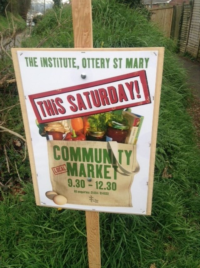 Community Market - 28th April 2018 image