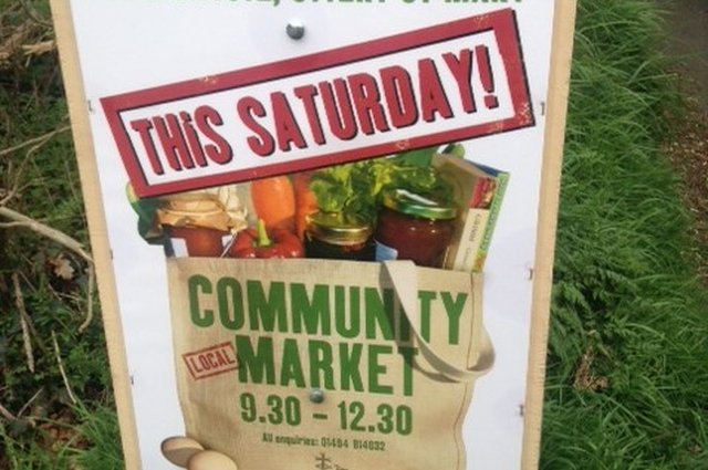 Community Market - 29th September 2018 image