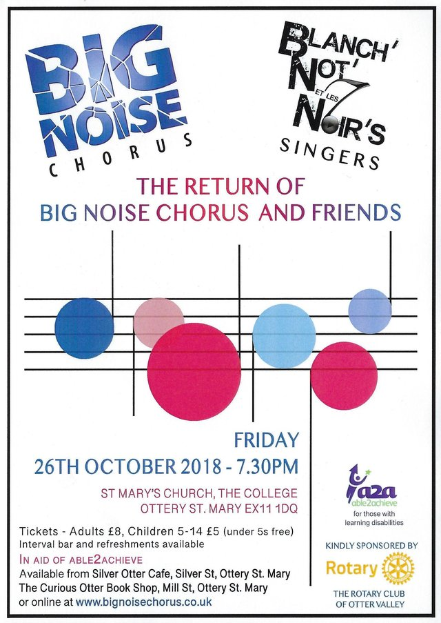 Big noise chorus - 26 Oct 2018 image