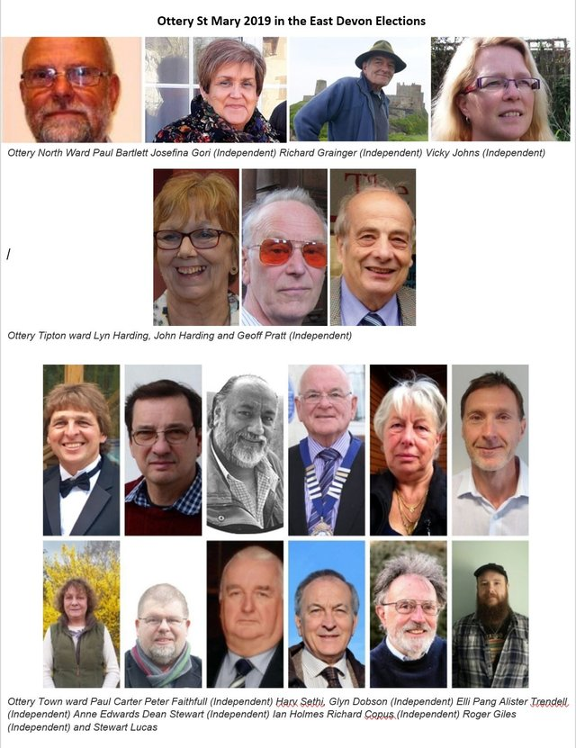 East Devon Elections 2019 - Meet the candidates image