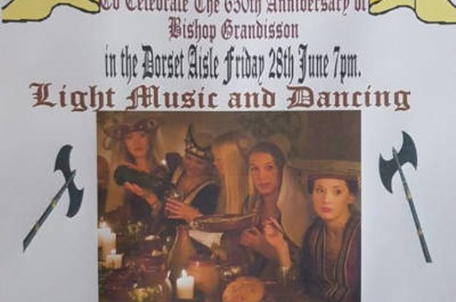 Medieval Banquet at Ottery St Mary Parish Church - 28 June 2019 image
