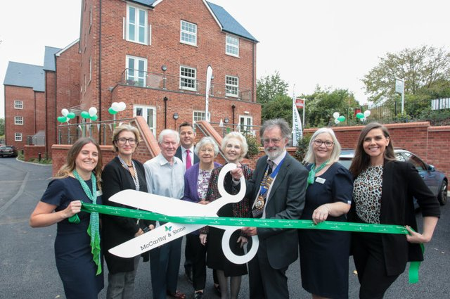 Opening of McCarthy and Stone's new Tumbling Weir Court Retirement Living development image