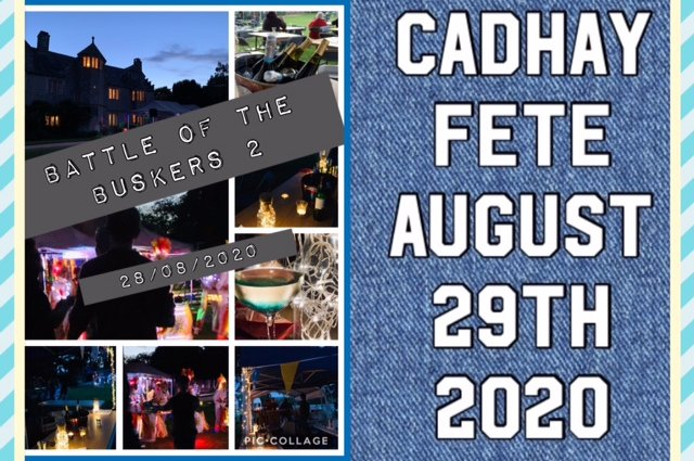 Save the Date - 2020 Cadhay Fete Ottery St Mary image