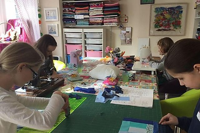 Wet Felting and Embellishment Workshops at The Sewing Room image