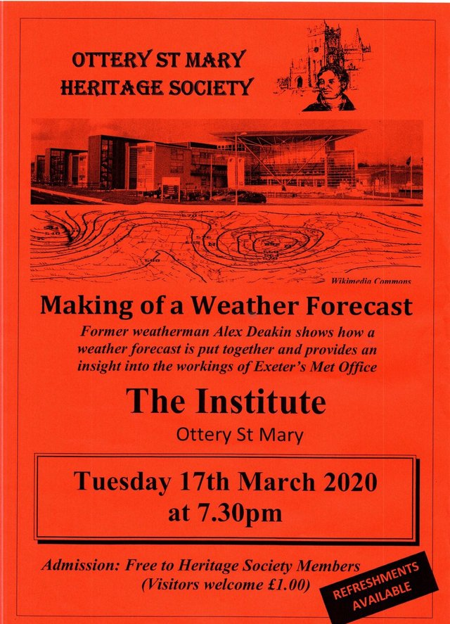 Making of a weather forecast - 17 March 2020 image