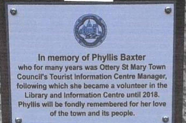 A tribute to the late Phylllis Baxter image