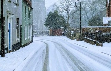 Snow in Ottery image