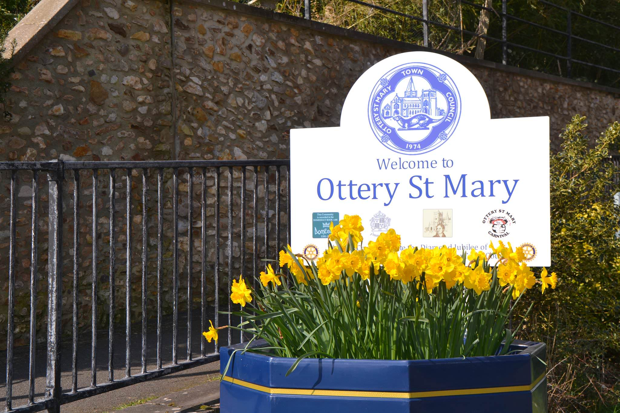 Welcome to Ottery St Mary in East Devon